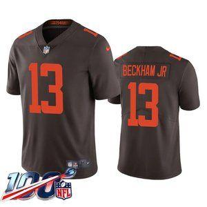 Browns Odell Beckham Jr Brown Alternate Jersey